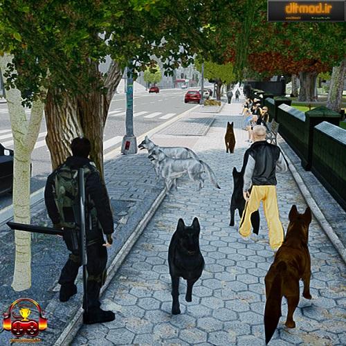 دانلود مد سگ برای بازی gta iv  و eflc (درخواستی)