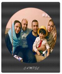 گلاره عباسی با همسرش و محسن جاوشی با همسرش + عکسها