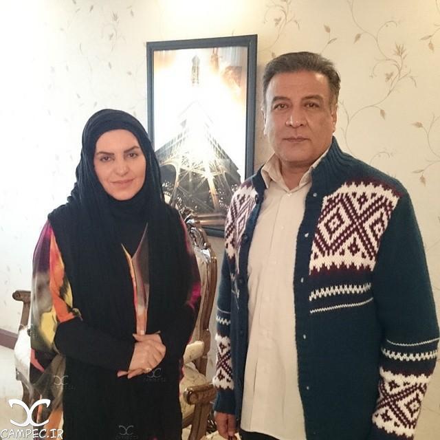 فریبا ترکاشوند با عبدالرضا اکبری
