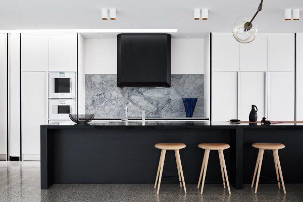 سنگ مرمر سفید در آشپزخانه4
