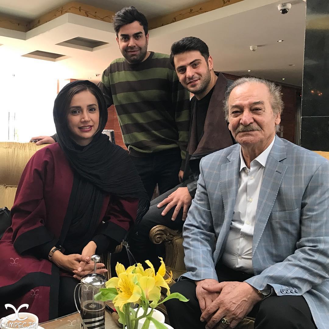 شبنم قلی خانی و سیامک اطلسی در شیراز
