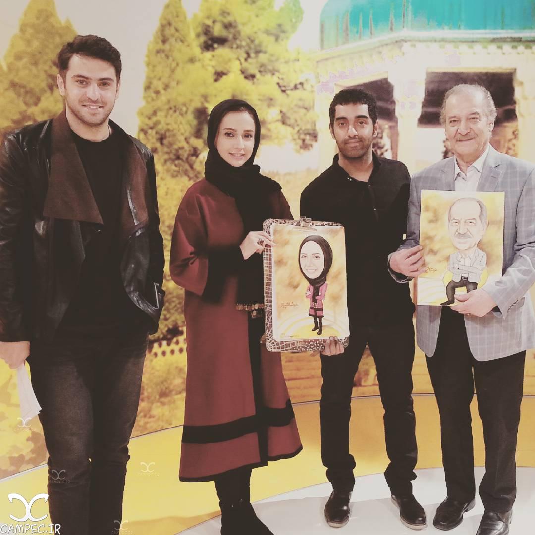 شبنم قلی خانی و سیامک اطلسی در خوشا شیراز