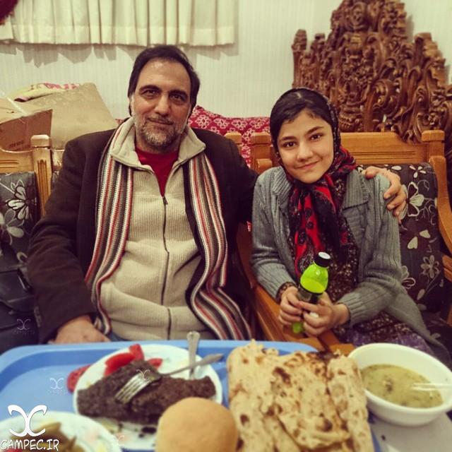 سارا بهارلو با حسن فتحی در سریال شهرزاد
