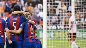نتیجه بازی امروز بارسلونا و مالاگا 29 آبان 95 فیلم گلها و خلاصه