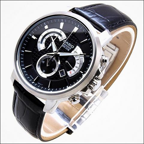 ساعت کاسیو بند چرمی بسیار زیبا