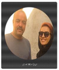 عکسها و بیوگرافی سعید آقاخانی با همسر و فرزندان