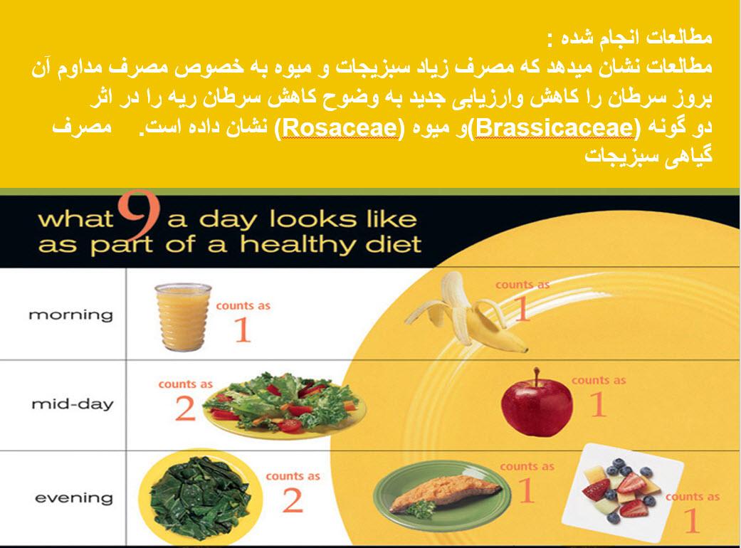 دانلود رایگان  مقاله تأثیر فیتو کمیکالهای موجود در میوه و سبزی بر  روی سلامتی و نقش محرکهای پس از برداشت