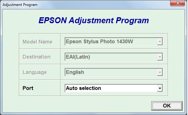 Epson l210 adjustment program ver 1 0 0
