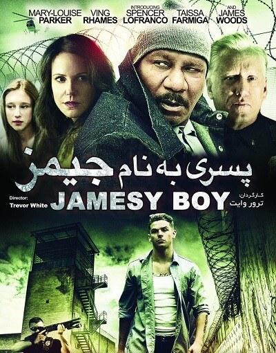 دانلود فیلم پسری به نام جیمز با دوبله فارسی jamesy boy 2014