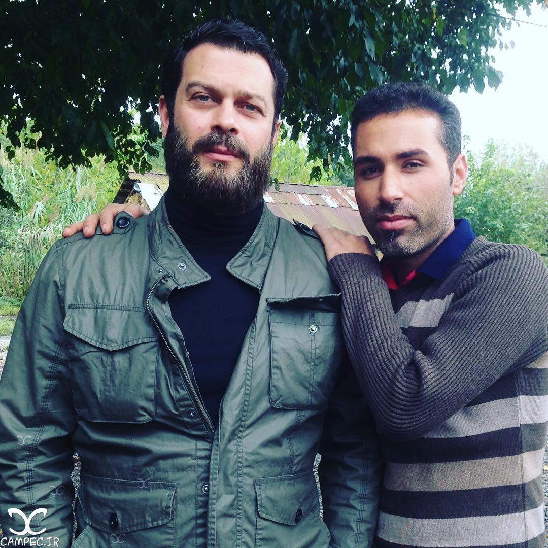 پژمان بازغی بازیگر سریال هشت و نیم دقیقه