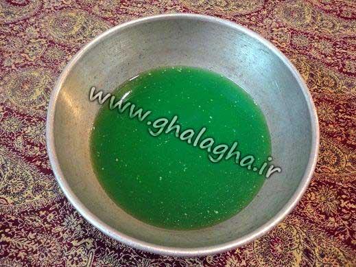 طرز تهیه ژله هندوانه ای