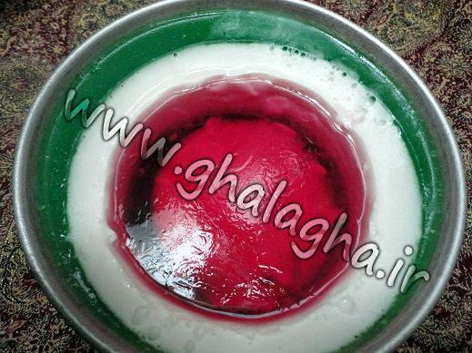 آموزش ژله هندوانه ای به صورت تصویری