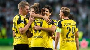 نتیجه بازی دورتموند و لژیا در لیگ قهرمانان اروپا 2 آذر 95+فیلم خلاصه و گلها 8-4