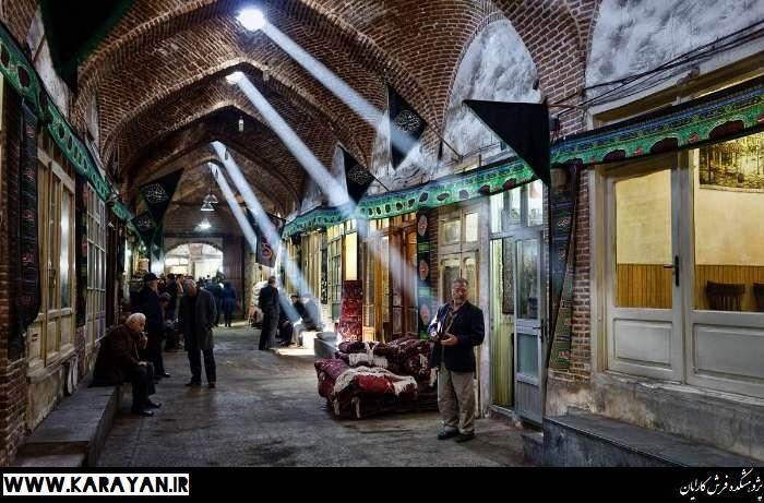 تصاویری از بازار فرش تبریز