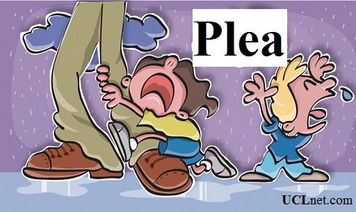 لغت ۱ درس ۲۱ کتاب ۵۰۴ - Plea