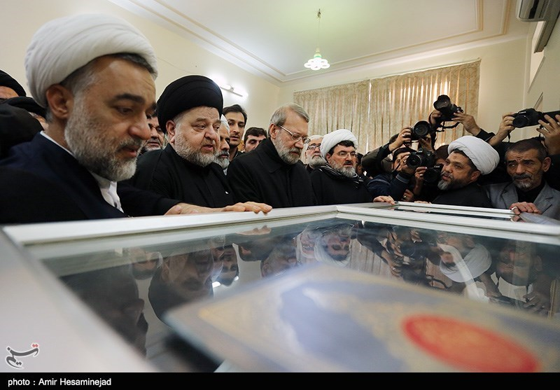 عکسهای تشیع جنازه آیت الله موسوی اردبیلی در قم