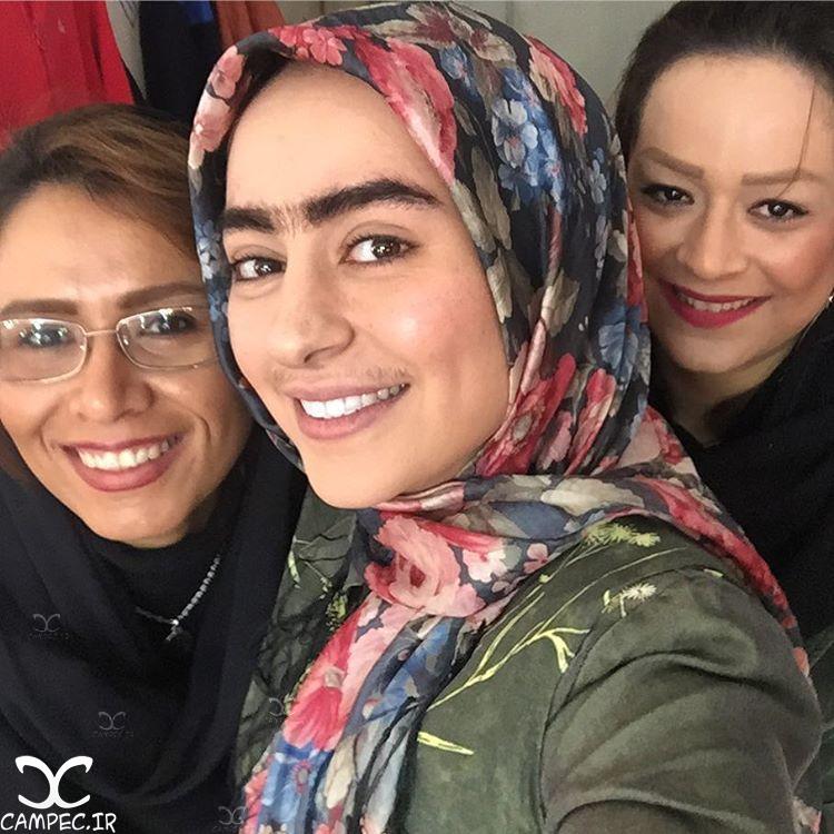 سمانه پاکدل بازیگر نقش گلناز سریال همسایه ها
