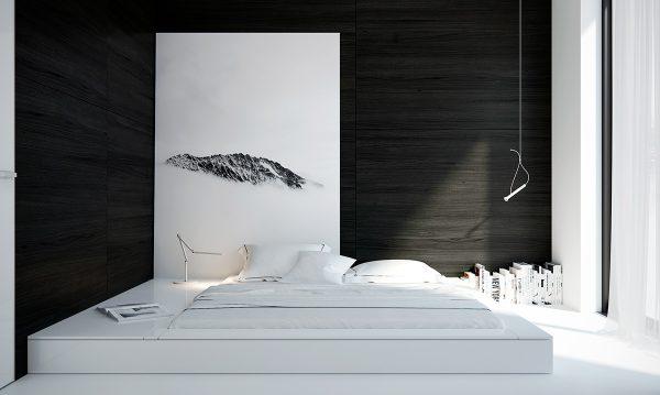 عکس اتاق خواب شیک و ساده2