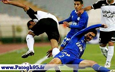 نتیجه بازی صبای قم - استقلال - گلها و خلاصه - 11 آذر 95