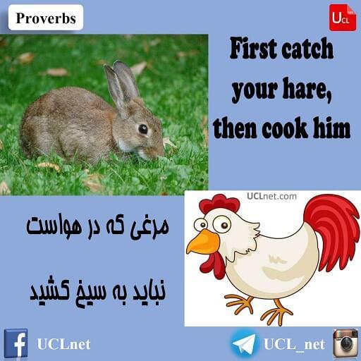 Proverb 41 - ضرب المثل چهل و یکم