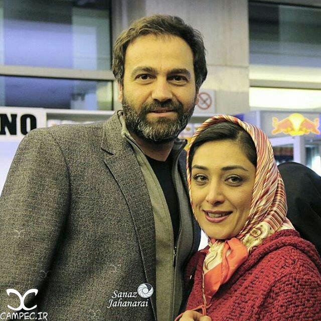 آرش مجیدی با همسرش میلیشا مهدی نژاد