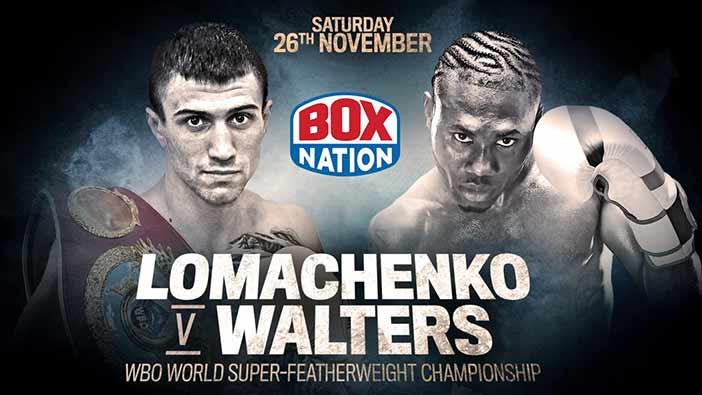 دانلود مسابقات قهرمانی  بوکس: Vasyl Lomachenko vs. Nicholas Walters