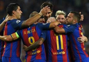 نتیجه بازی بارسلونا و رئال سوسیداد 7 آذر 95 | فیلم گلها و خلاصه دیشب
