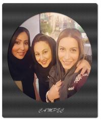 عکسهای جذاب بازیگران ایرانی کنار هم آذر ماه 95