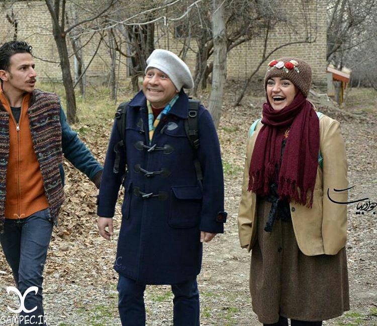 یلدا عباسی با سروش جمشیدی در سریال عطسه