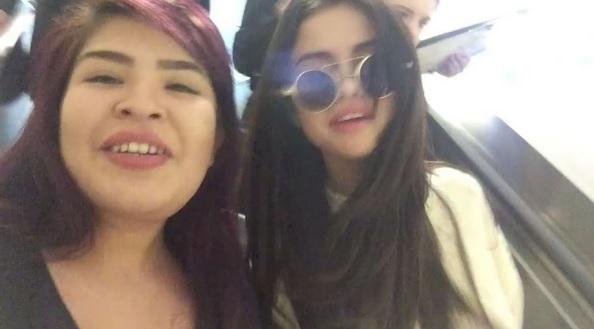 عکس ها و ویدئوهای جدید از سلنا با طرفداران در فرودگاه LAX