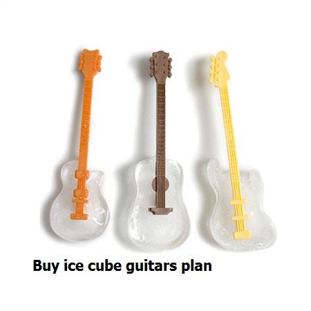 خرید اینترنتی قالب یخ طرح گیتار و گیره کوچک کننده بینی :