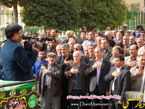 تصاویر مراسم عزاداری شهادت امام رضا(ع) در شهرنورآباد