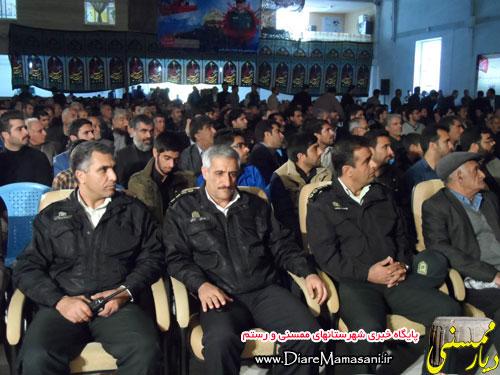 تصاویر مراسم سالگرد شهادت سردار ستار محمودی در نورآباد