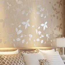 کاغذ دیواری متالیک و نورپردازی image