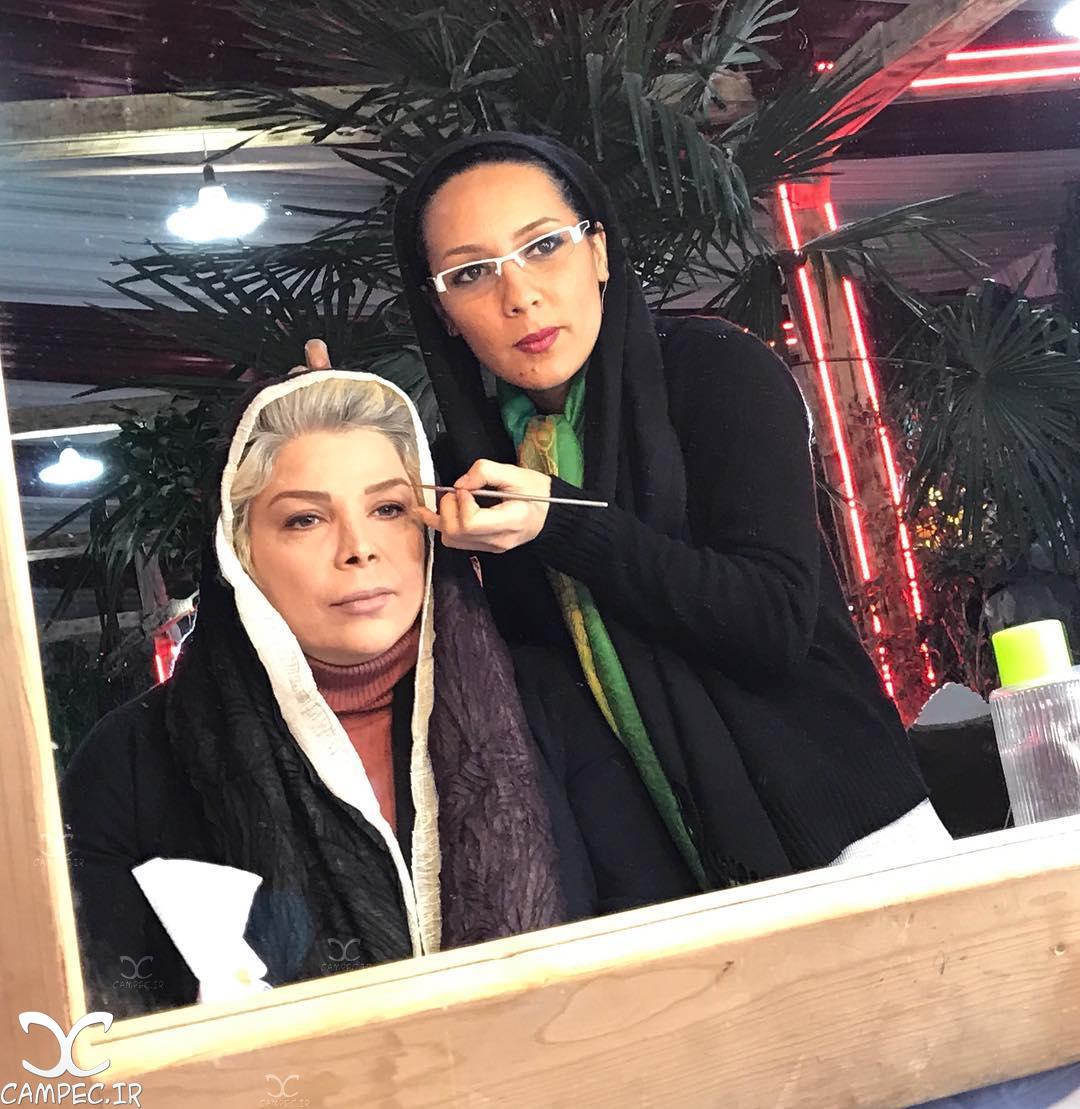 شیوا خنیاگر یازیگر سریال ماه و پلنگ