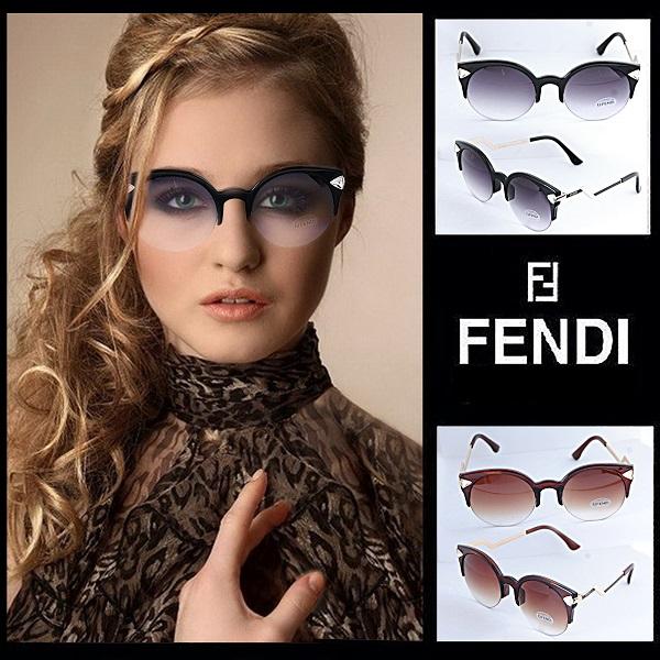 عینک آفتابی زنانه طرح FENDI