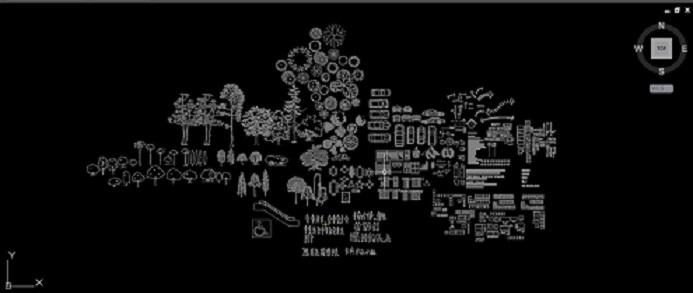 Image result for فایل اتوکد مجموعه مبلمان علایم واشکال پر کاربرد در معماری
