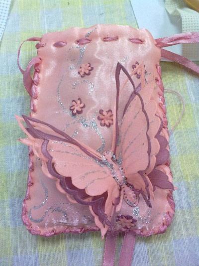 آموزش تصویری ساخت پروانه با هویه