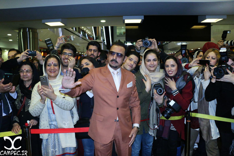 گلشن گروور در اکران خصوصی فیلم سلام بمبئی
