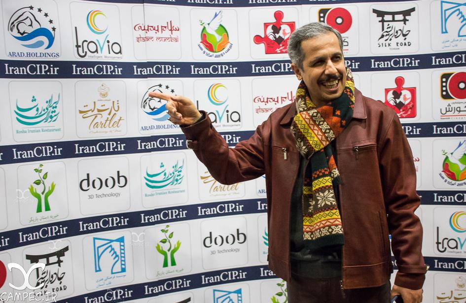 جواد رضویان در اکران خصوصی فیلم سلام بمبئی