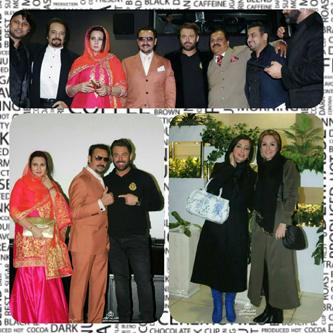 مراسم اکران فیلم سلام بمبئی با حضور هنرمندان ایران و هند