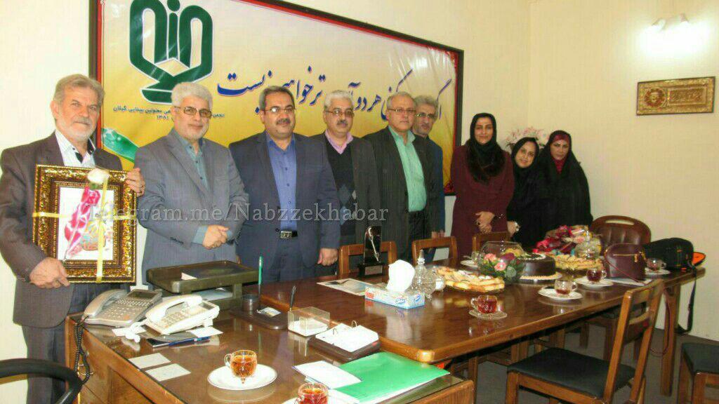 دیدار مدیران شرکت ملی نفت به مناسبت روز جهانی معلولین با  اعضاءاین انجمن دیدار کردند