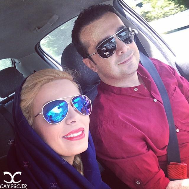 سپند امیرسلیمانی و همسرش مارال آراسته