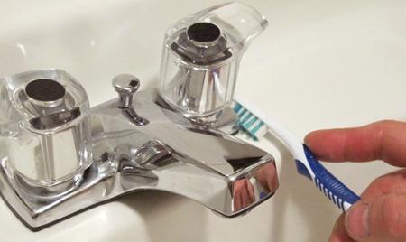 آسان ترین روش پاک کردن جرم و رسوب شیرآلات!