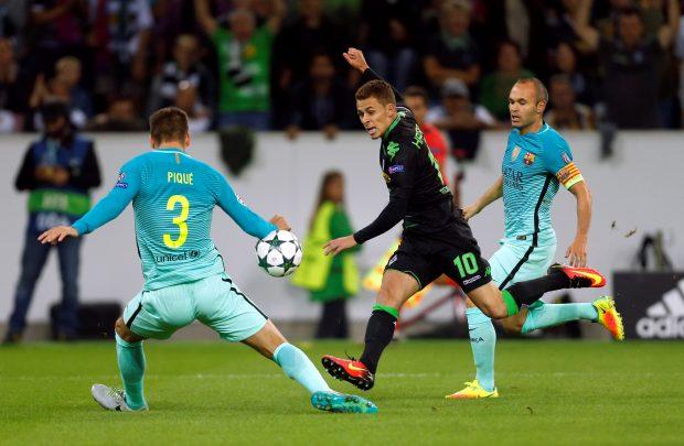 ساعت بازی بارسلونا و مونشن گلادباخ | پیش بازی 16 آذر 95 | نتیجه و فیلم