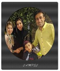 عکسهای مهدی رجب زاده با همسر و فرزندانش + بیوگرافی