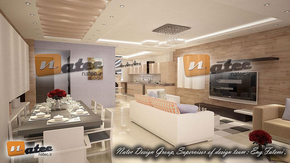 طراحی منزل مسکونی از ناتک01