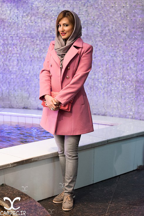 سمیرا حسینی در اکران خصوصی فیلم لاک قرمز