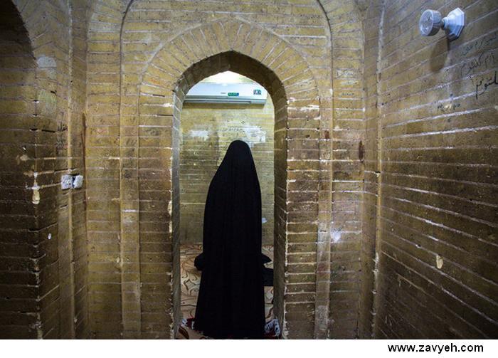 عکس خانه حضرت علی(ع)- اتاق امام حسن و امام حسين (ع)