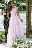 خرید اینترنتی مدل لباس شب مجلسی با تور کش دانتل کوتاه کار شده بلند